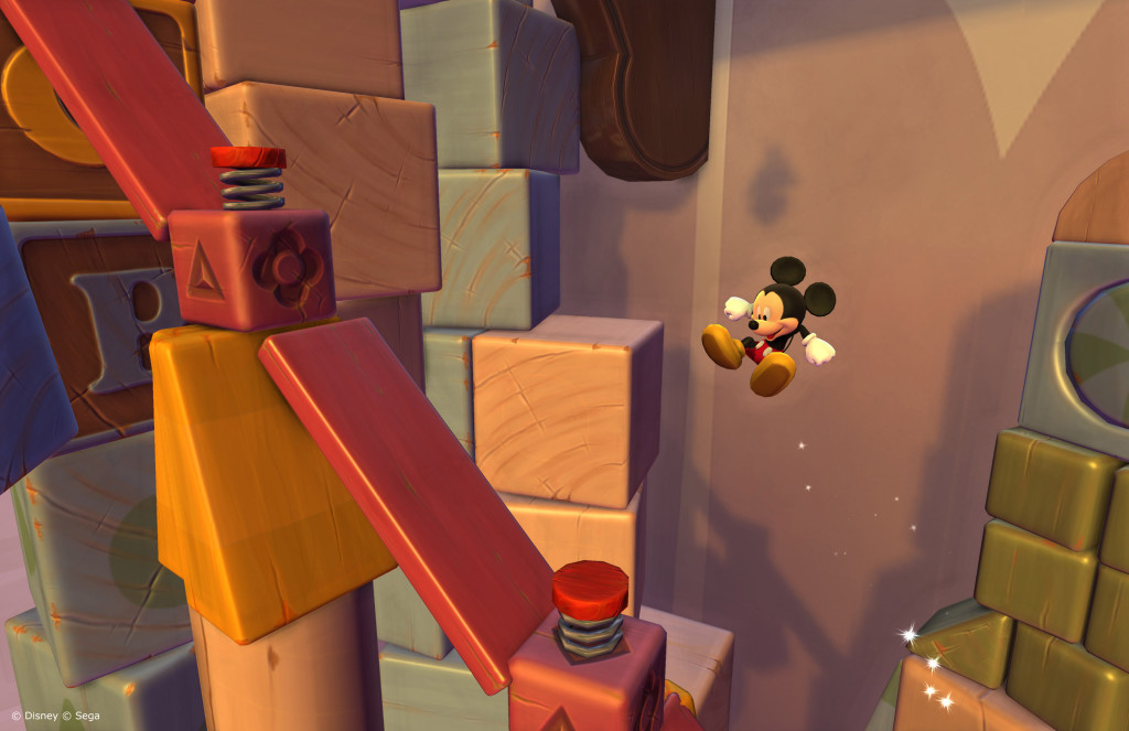 Castle of Illusion - Gameplay