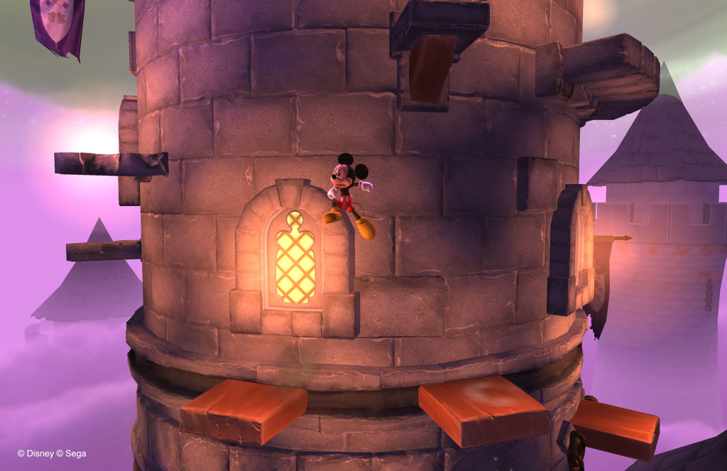 Castle of Illusion - Plataformas