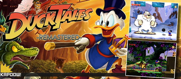 DuckTales Remastered Análise Kapoow