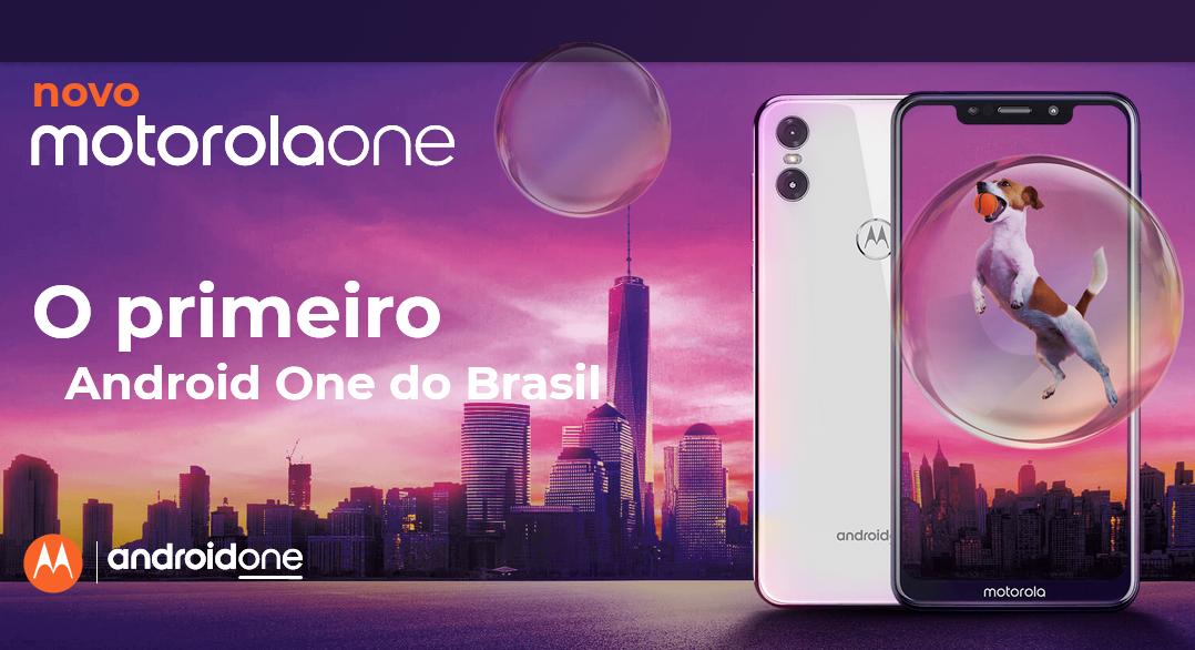 30ec53581 Testamos o novo Motorola One!