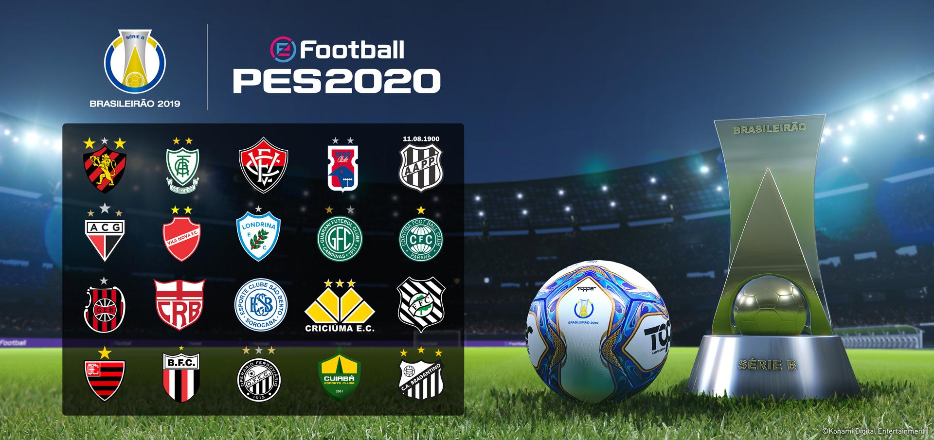 KONAMI anuncia parceria com o Vasco da Gama, exclusividade com o Atlético Mineiro e a Série B!