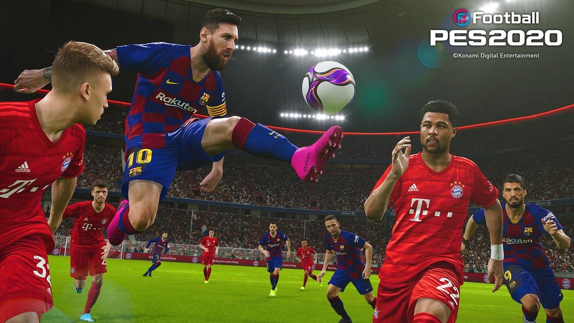 eFootball PES 2020 PARA DISPOSITIVOS MÓVEIS ATINGE 300 MILHÕES DE DOWNLOADS