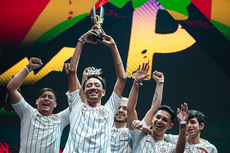 Com recorde de audiência, Corinthians e LOUD vencem Free Fire Pro League 3 e representarão o Brasil no Mundial