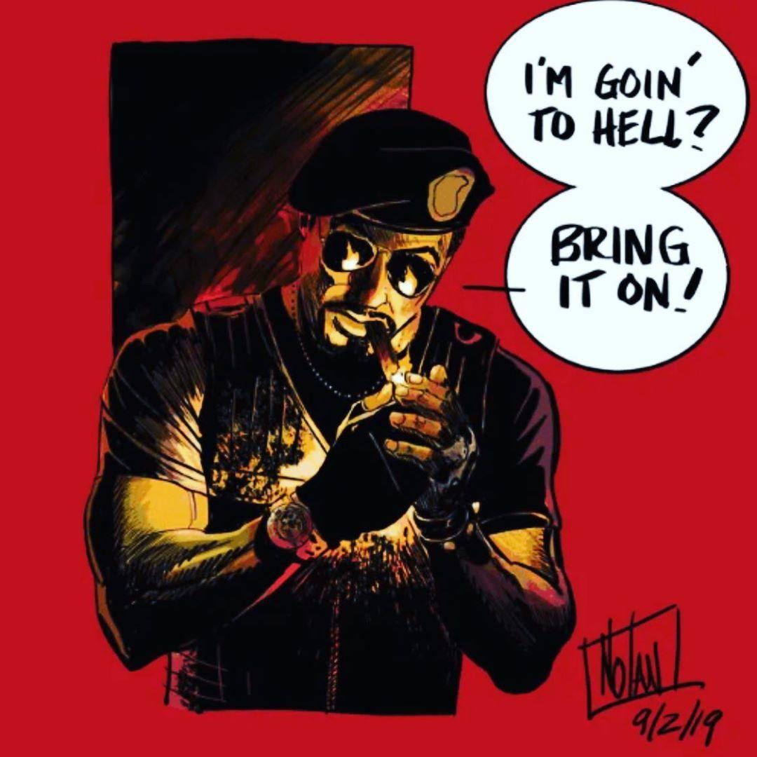 Os Mercenários agora em Quadrinhos!!