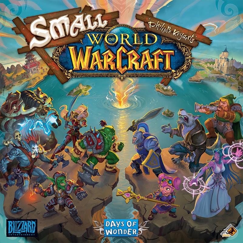 Galápagos traz jogo de tabuleiro baseado em World of Warcraft para o Brasil