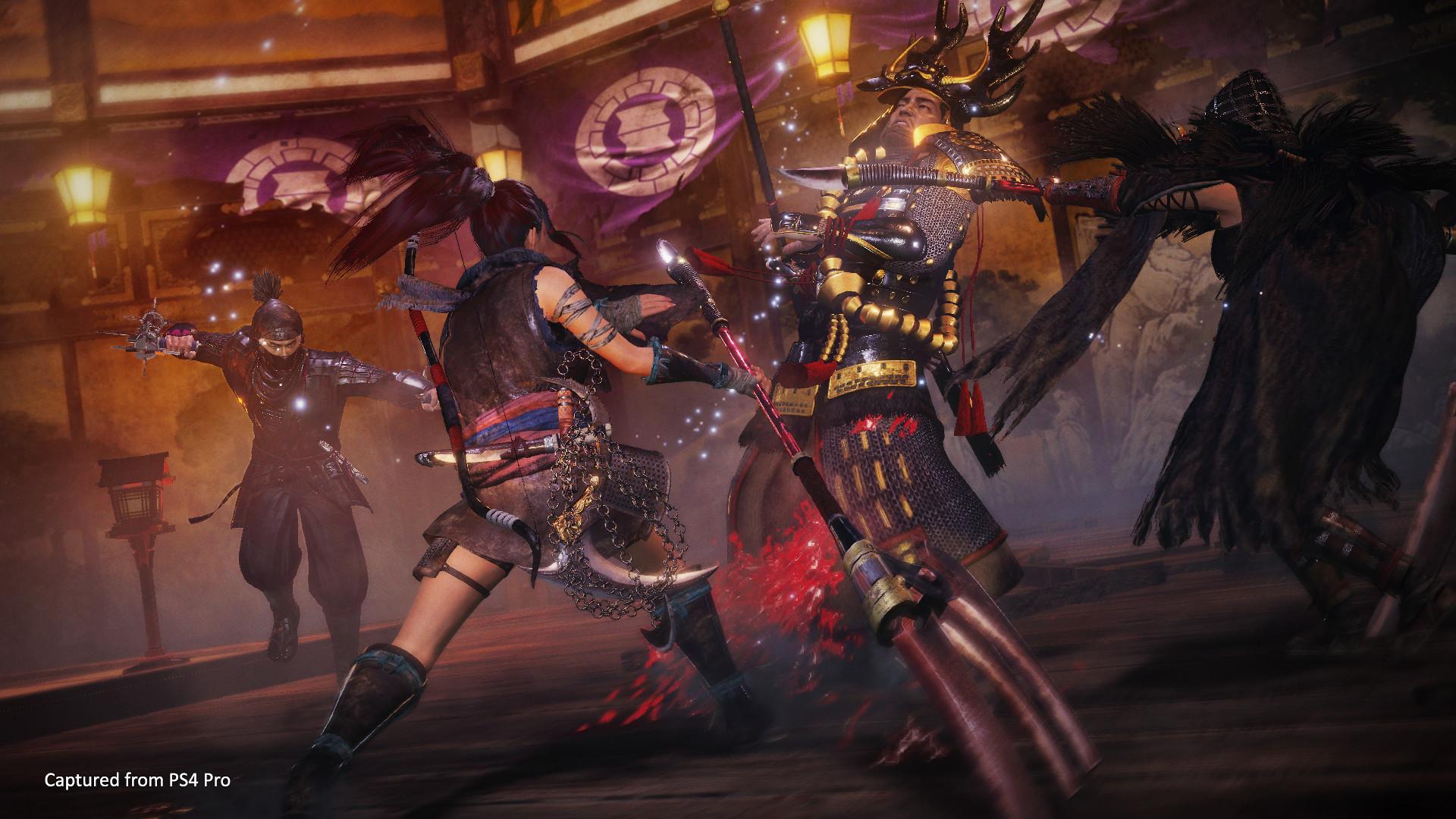 PlayStation anuncia novas DLCs de Nioh 2