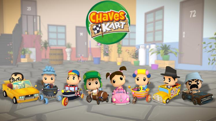 Chaves Kart é lançado no Brasil para dispositivos mobile!