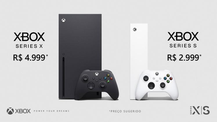 Xbox Series S|X chegam ao Brasil em novembro com preços a partir de R$ 2.999 e R$ 4.999!