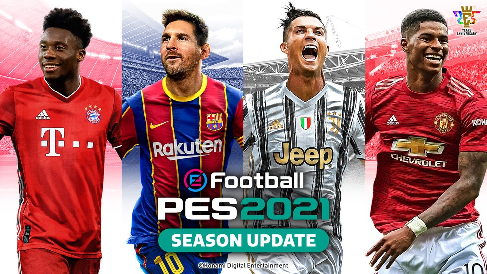 Análise: EFootball Pro Evolution Soccer 2021 Season Update