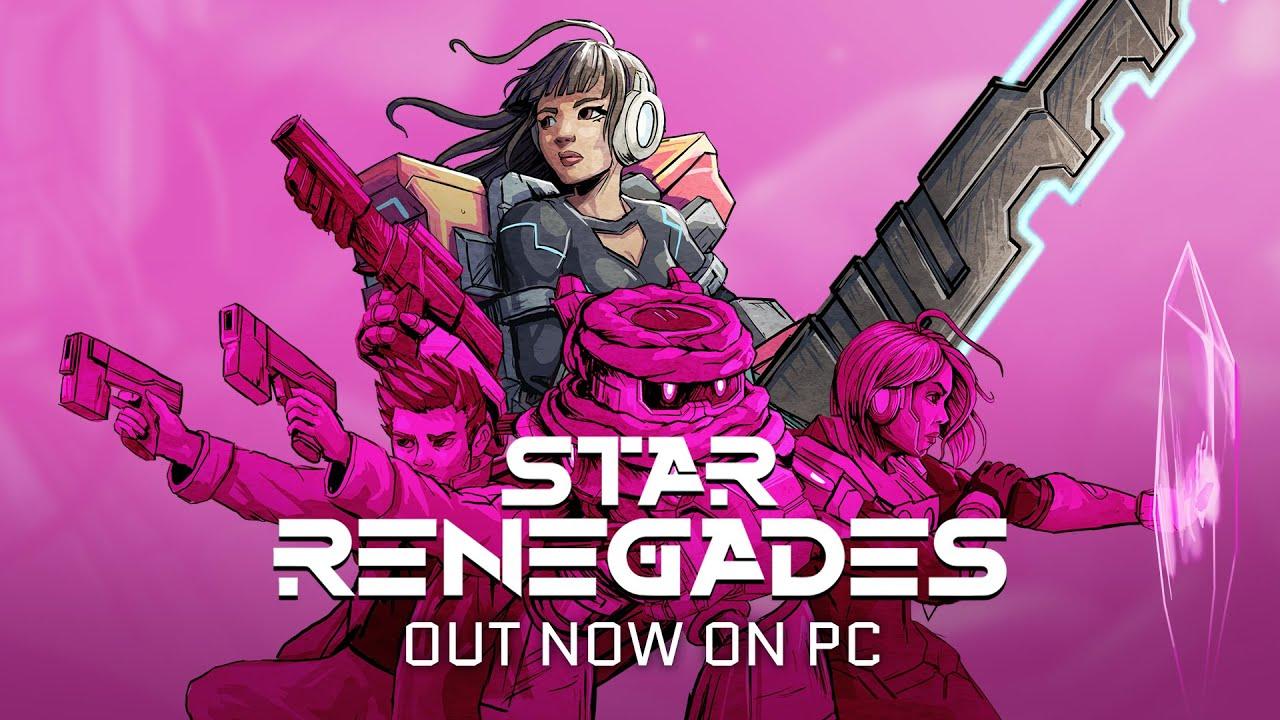 Star Renegades já está disponível nos PCs!