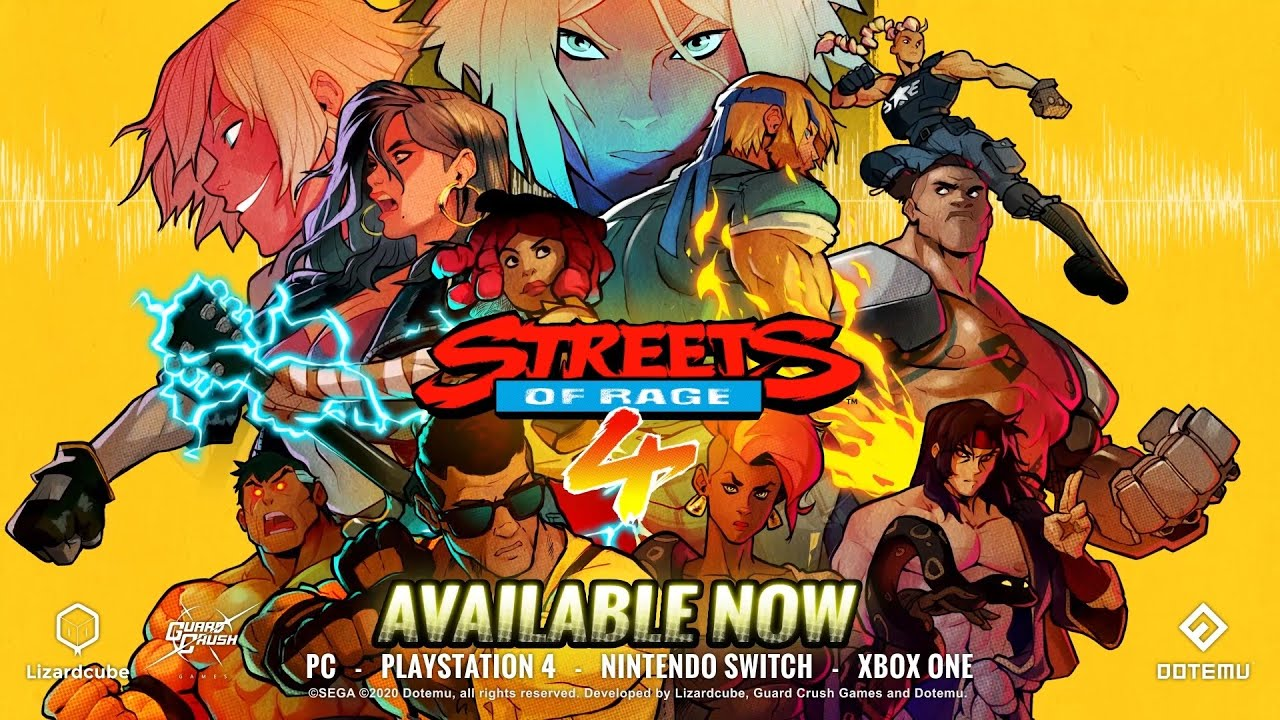 Streets of Rage 4 recebe Update!
