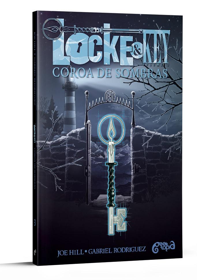 """TERCEIRO VOLUME DA HQ """"LOCKE & KEY"""" É LANÇAMENTO DE SETEMBRO"""