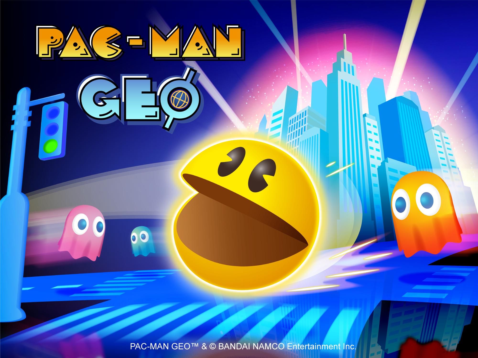 PAC-MAN INVADE AS RUAS DO MUNDO REAL EM SEU NOVO JOGO PAC-MAN GEO