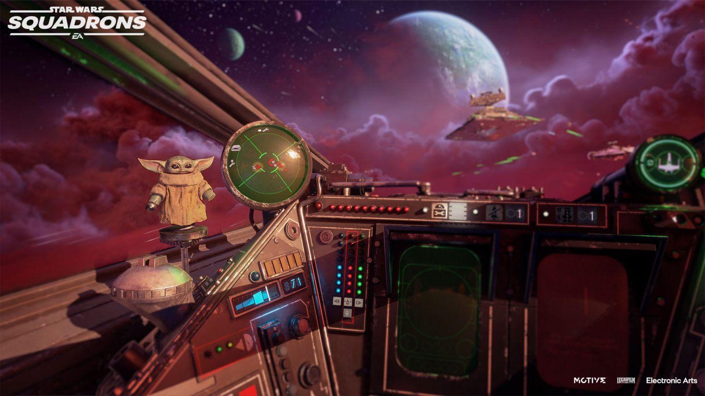 STAR WARS: SQUADRONS recebe pacote de expansão 'THE MANDALORIAN' em outubro!