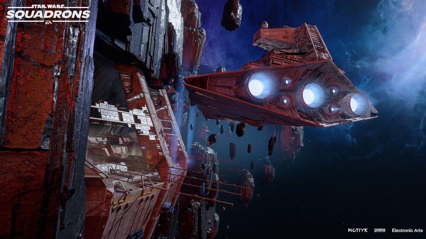 Star Wars: Squadrons  terá entrega de suprimentos de fim de ano