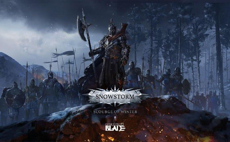 Desastre do Inverno, nova atualização gratuita para Conqueror's Blade