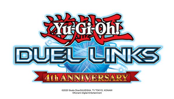 YU-GI-OH! DUEL LINKS comemora aniversário de 4 anos com várias campanhas no jogo