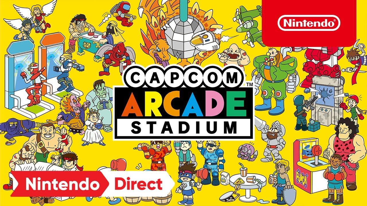 Capcom Arcade Stadium Chega Hoje ao Nintendo Switch e Co-Op Local Anunciado para Ghosts 'n Goblins Resurrection