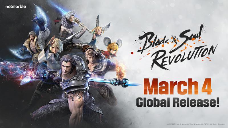 Blade & Soul Revolution chega em 4 de março aos celulares