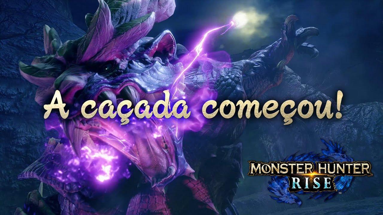 Monster Hunter Rise Já Disponível no Nintendo Switch