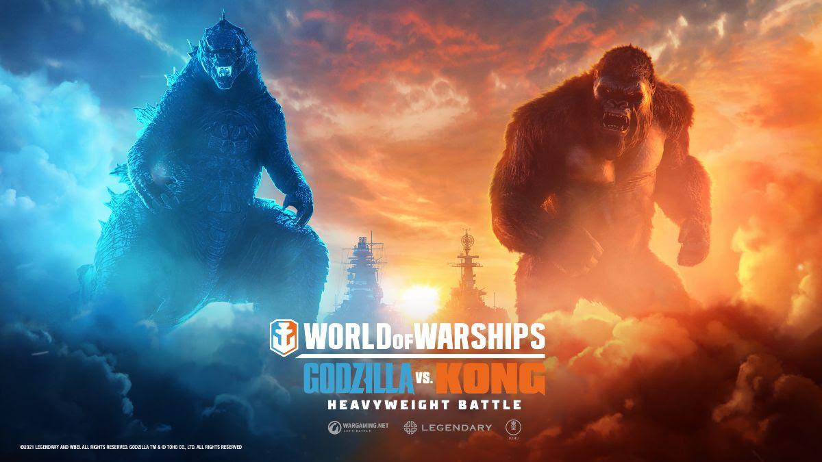 Godzilla e Kong batalham pela supremacia em World of Warships