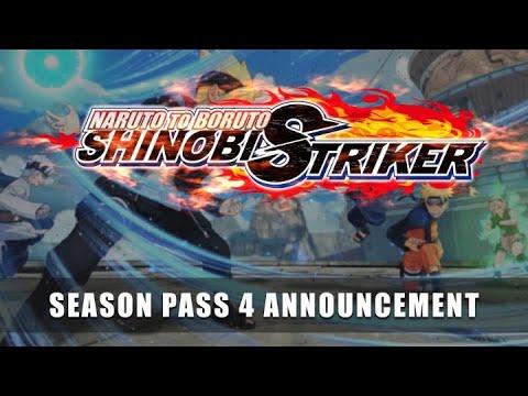 NARUTO TO BORUTO: SHINOBI STRIKER   Passe de Temporada 4 e lançamento de modo gratuito