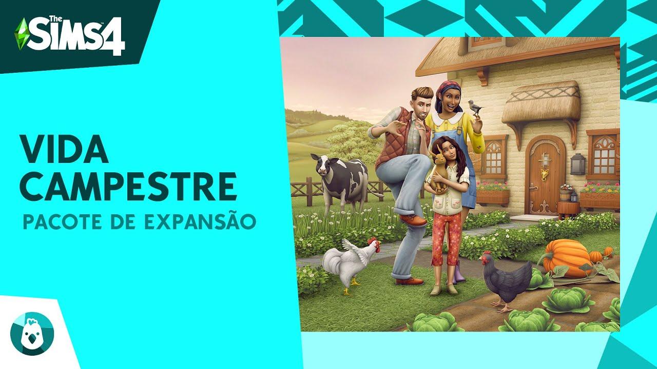 The Sims 4™   Vida Campestre estará disponível em 22 de julho