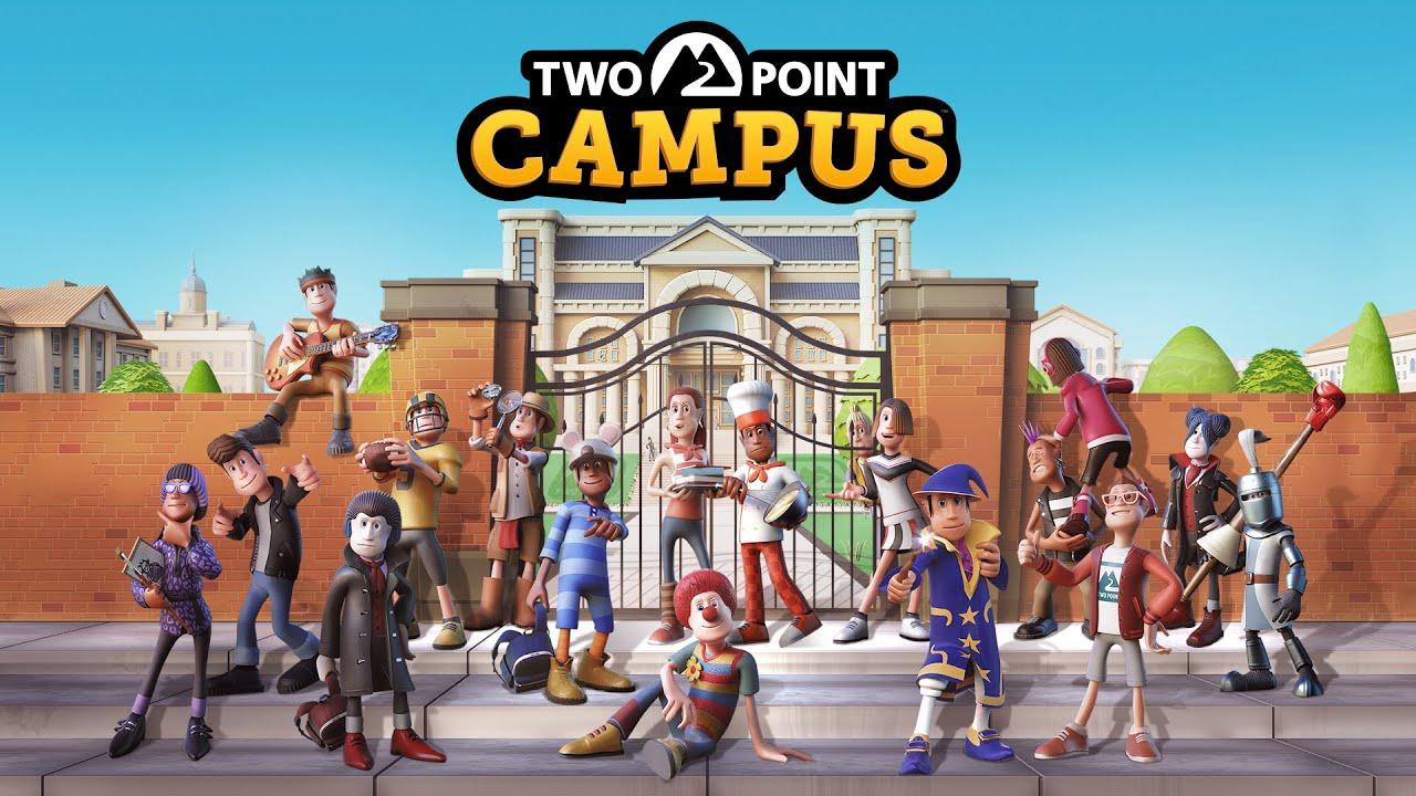 Two Point Campus | SEGA anuncia seu game de simulação de gerenciamento