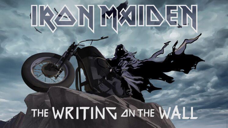 """Iron Maiden   Banda lança nova música, """"The Writing On The Wall"""", com bela animação, veja o clipe!"""