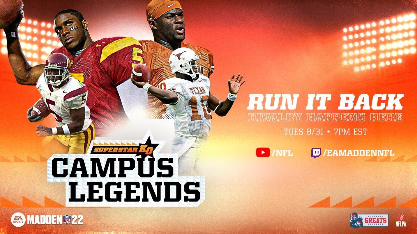 Madden NFL 22 | Electronic Arts traz de volta a rivalidade do campus com a adição de dez times universitários em Superstar KO