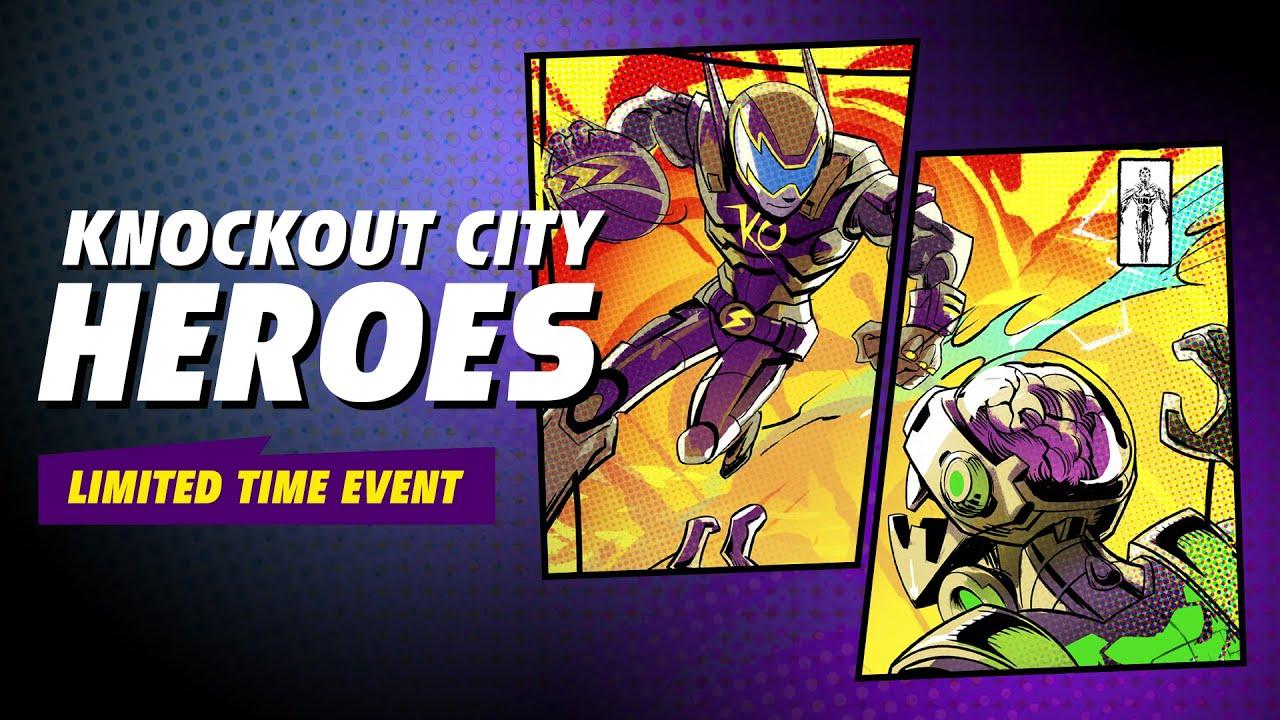Knockout City | Evento do meio da Temporada 2, Lendas distribui superpoderes