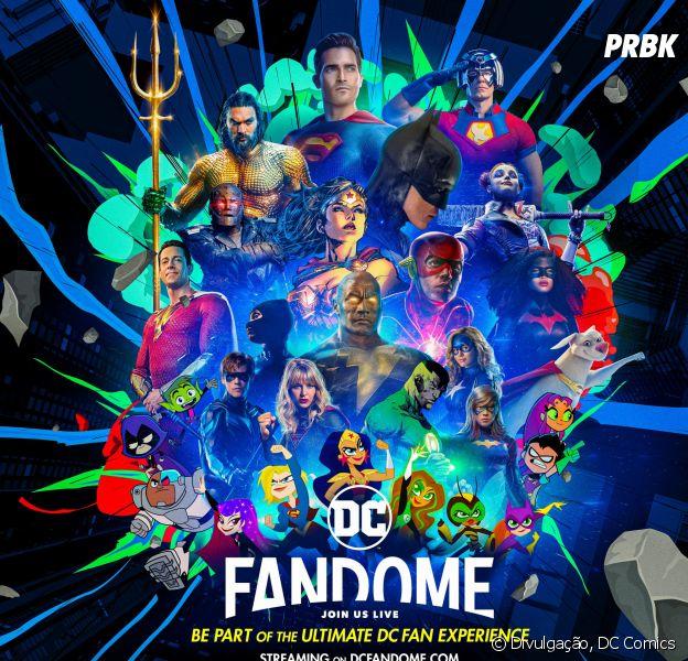 DC FanDome de volta em outubro e promete ser épico