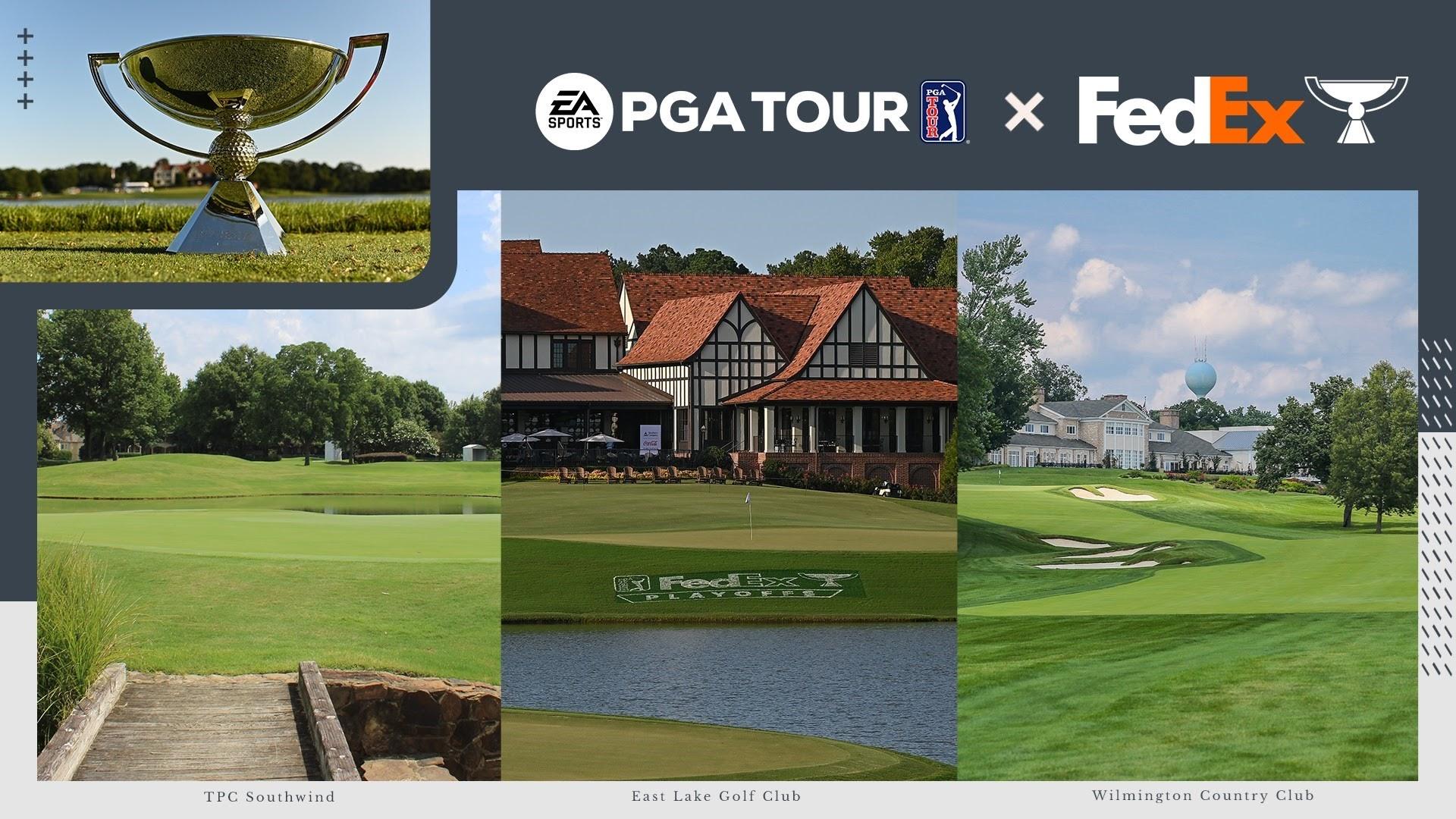 EA SPORTS PGA TOUR   Electronic Arts e PGA TOUR anunciam a adição dos playoffs da FedExCup