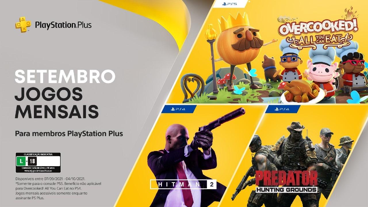 PS Plus | Confira a lista oficial dos jogos de setembro